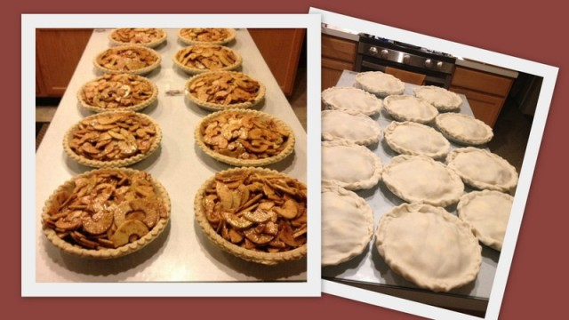 Homemade Apple Pies - Freeze and Bake Later