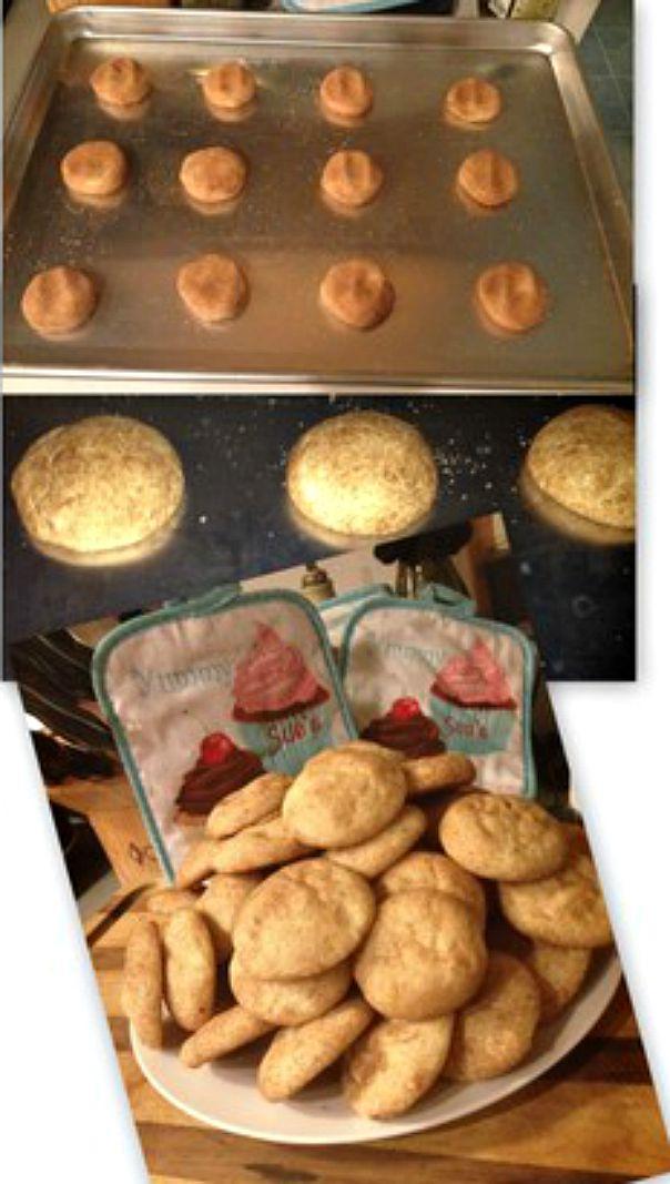 Homemade Snickerdoodles