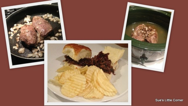 Goose Barbecue - Crock Pot Recipe